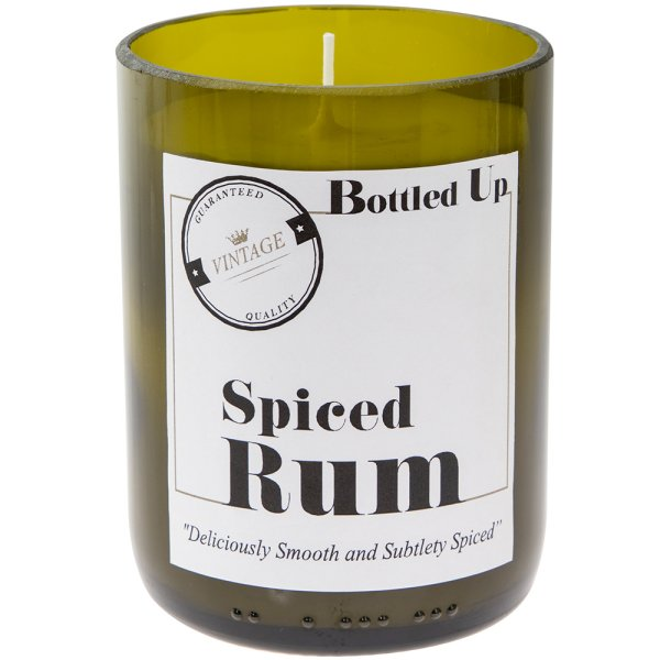 SPICED RUM BOTTLE CANDLE