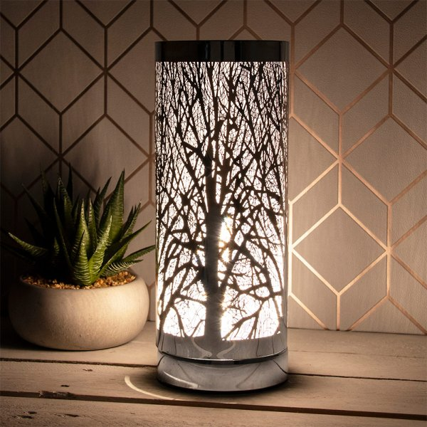 DESIRE AROMA TOUCH LAMP SILVER