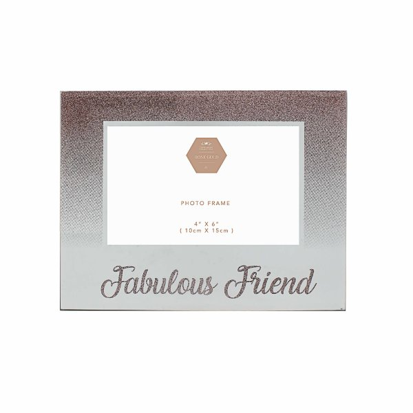 FAB FRIEND ROSE GOLD FRAME 4X6
