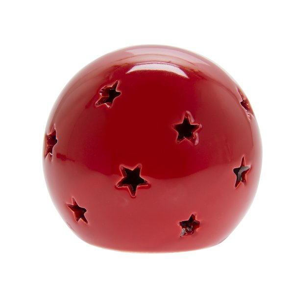 RED STAR LED BALL S