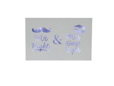 WEDDING MR & MRS