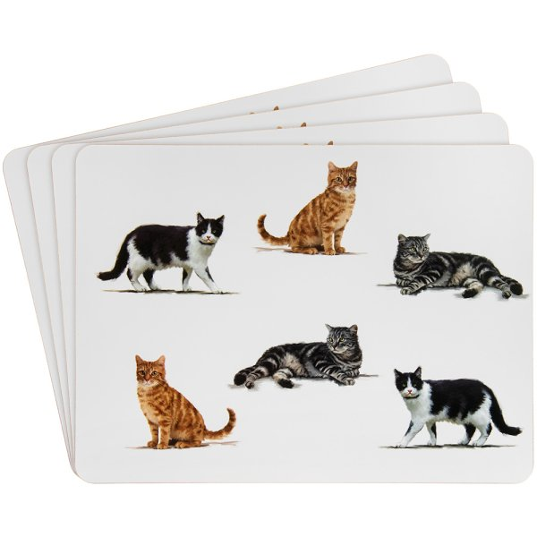 CATS PLACEMATS SETOF4