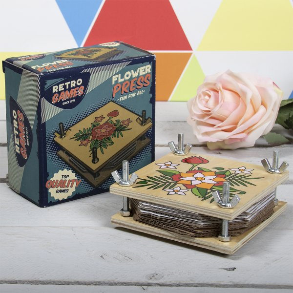 RETRO FLOWER PRESS