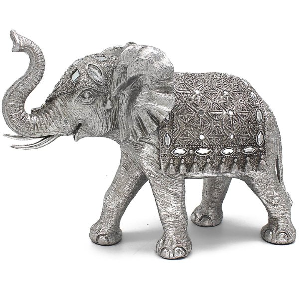 "SILVER ART ELEPHANT 11"""
