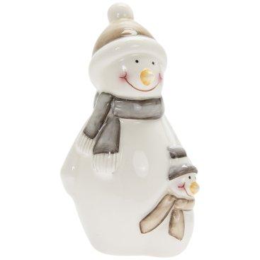 CHRISTMAS COTTAGE SNOWMEN REINDEER ROBIN