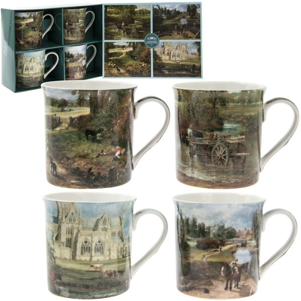 CONSTABLE MUGS SET OF 4