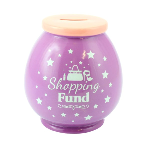 SHOPPING FUND MONEY BOX