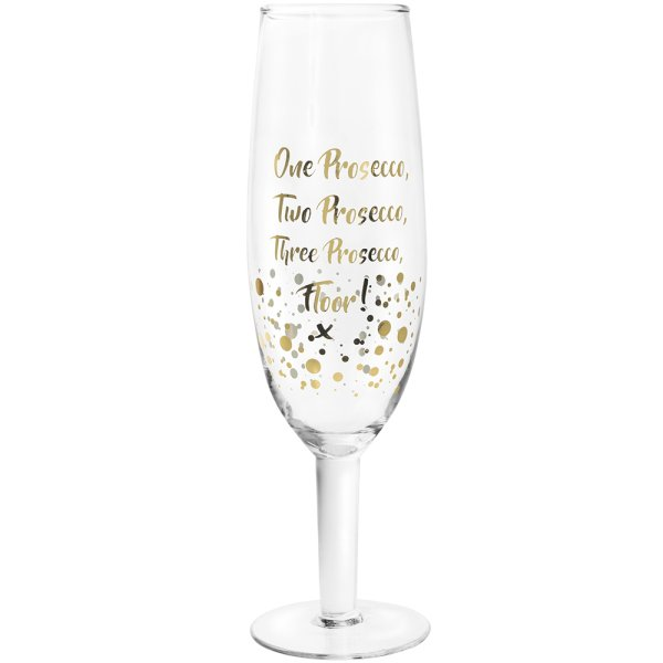 GOLD PROSECCO XL GLASS FLOOR