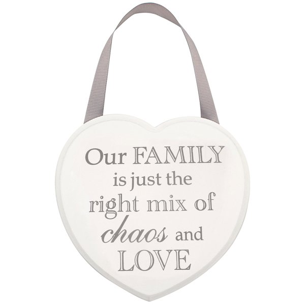 HEART PLAQUE FAMILY