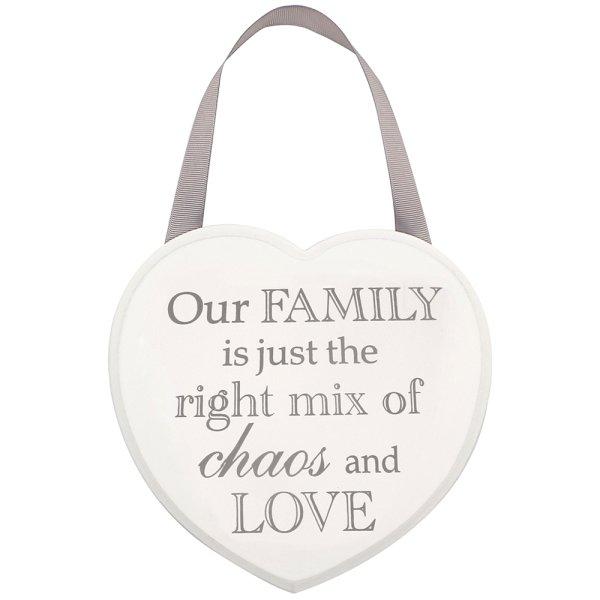 HEART PLAQUE FAMILY