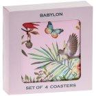 BABYLON COASTERS SET OF 4