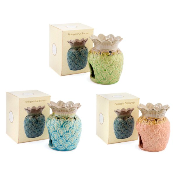 PINEAPPLE OIL BURNER 3 ASST