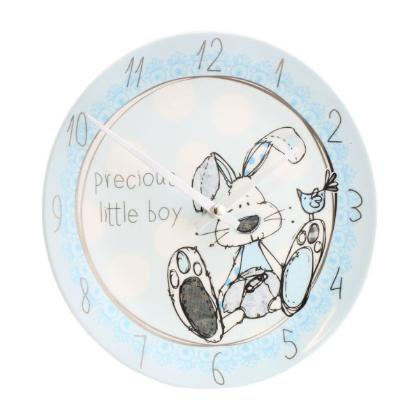 LITTLE MIRACLES BLUE CLOCK