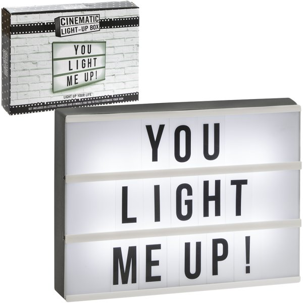 CINEMATIC LIGHT UP BOX