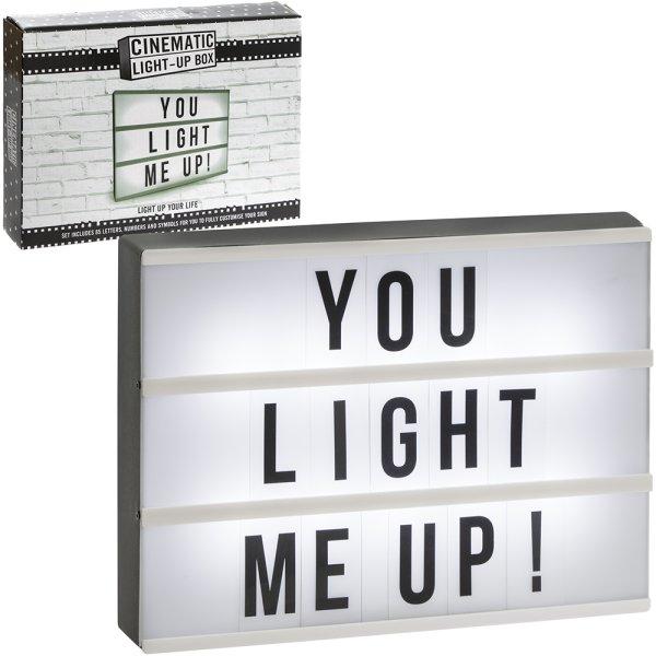 CINEMATIC LIGHT UP BOX