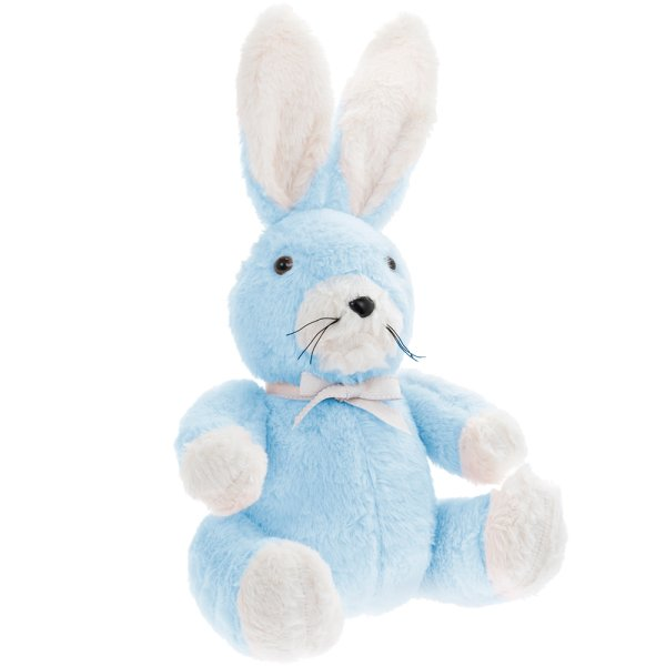 BLUE RABBIT DOORSTOP