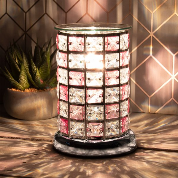 DESIRE AROMA LAMP PINK/CLEAR