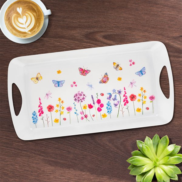 BUTTERFLY GARDEN TRAY MEDIUM