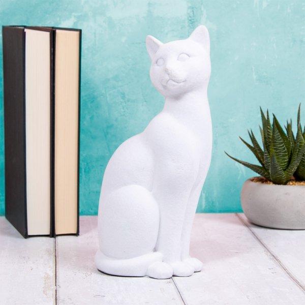 WHITE VELVET CAT
