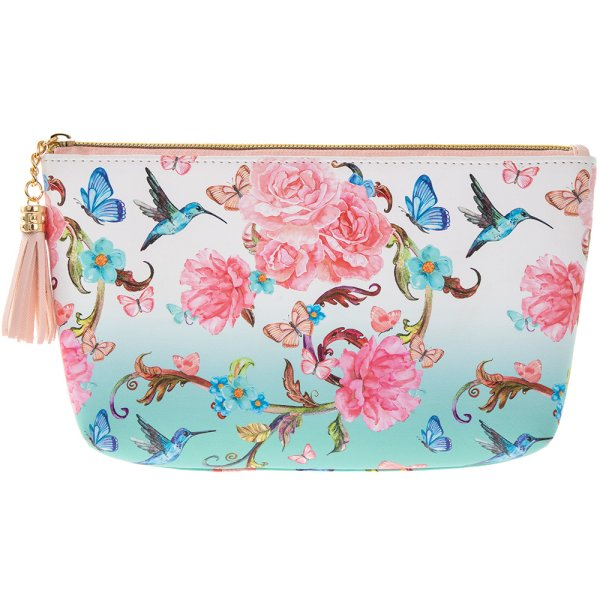 ORIENTAL BLOSSOM COSMETIC BAG