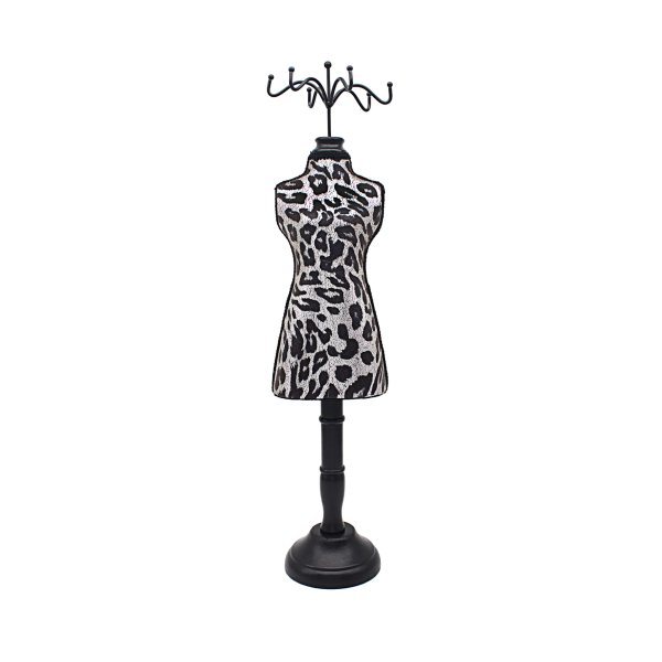 ANIMAL PRINT MANNEQUIN BLK/SIL