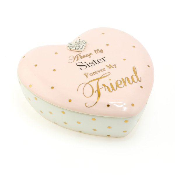 MAD DOTS SISTER HEART TRINKET