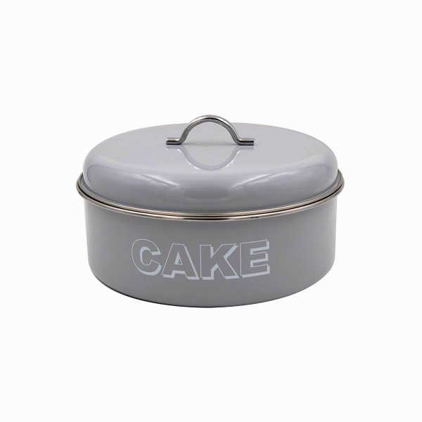 HSH GREY CAKE TIN