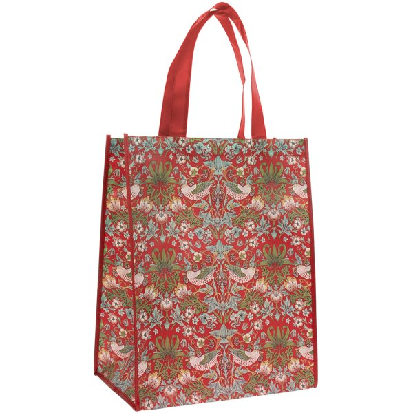 S'BERRY THIEF SHOPPING BAG RED