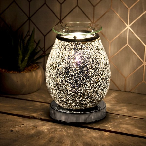 DESIRE AROMA LAMP BLACK MOSAIC