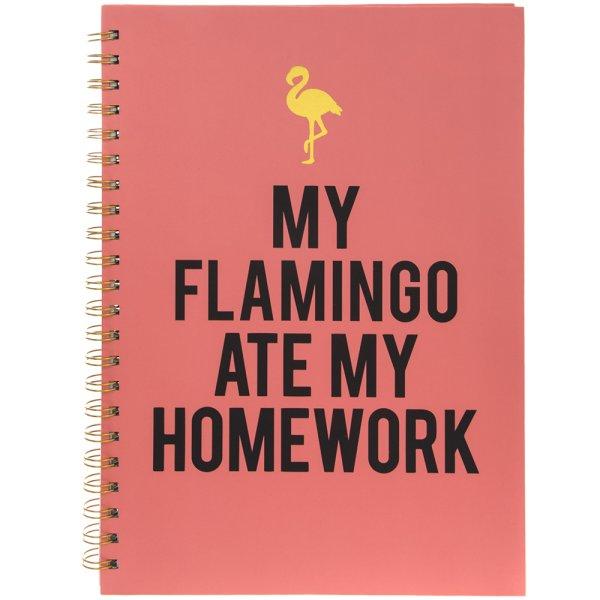 FLAMINGO NOTEBOOK A4