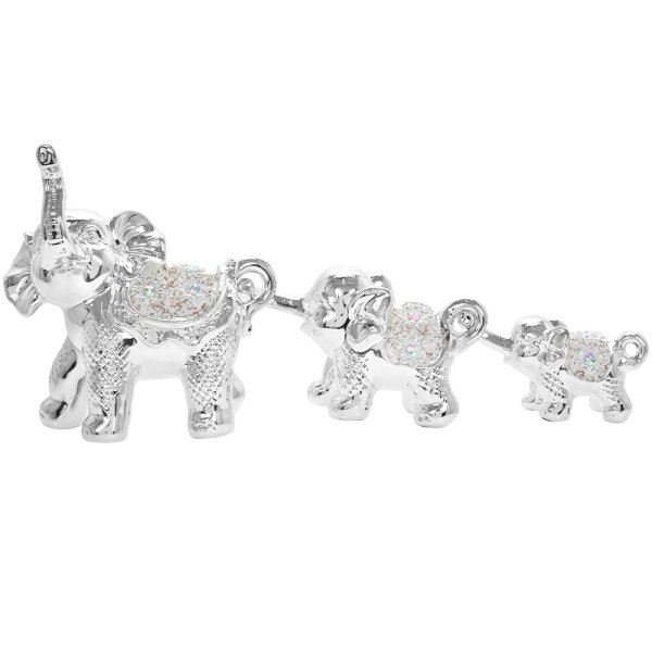BELLE FLEUR ELEPHANTS SET OF 3