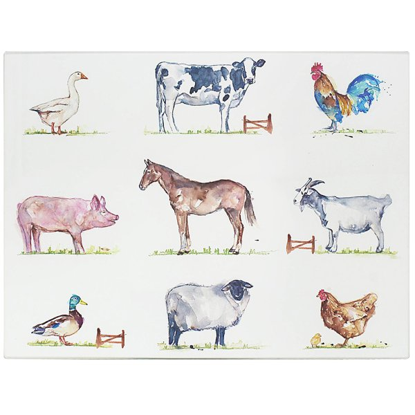 COUNTRY LIFE FARM CUTTINGBOARD