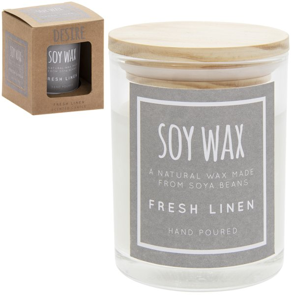 DESIRE SOY CANDL FRESH LINEN S