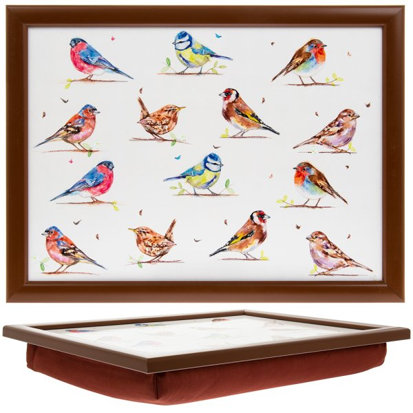COUNTRY LIFE BIRDS LAPTRAY