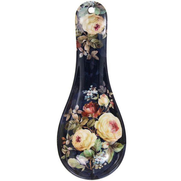 ROSE BLOSSOM SPOON REST