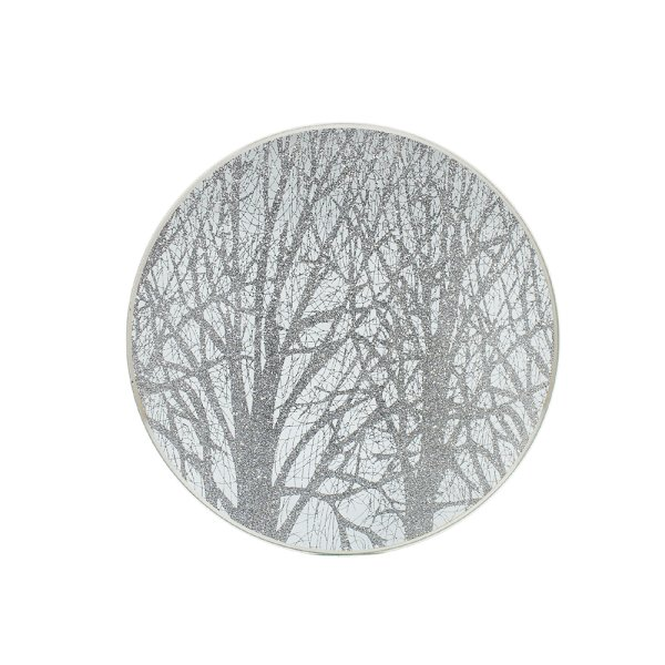 SILVER WOODLAND C/PLATE 20CM