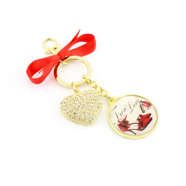 TRES LUXE KEYRING