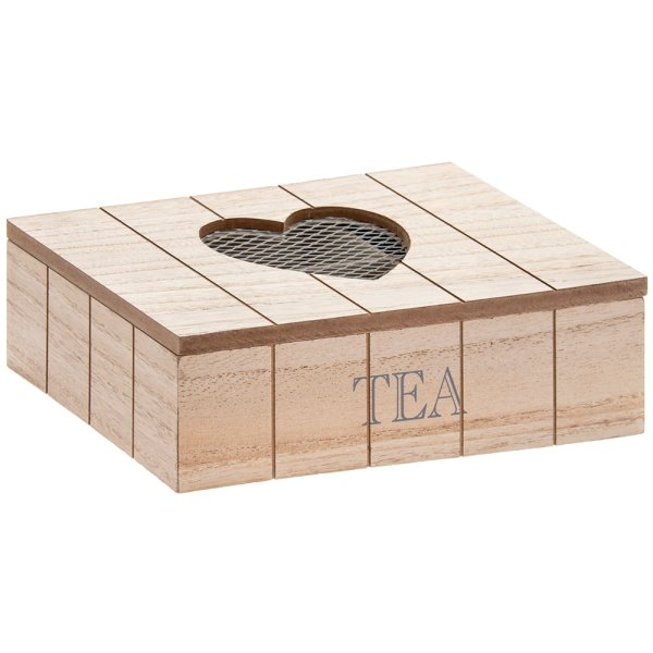 HEART TEA BOX