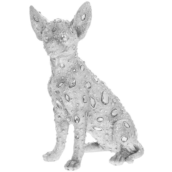 SILVER ART DIAMANTE CHIHUAHUA