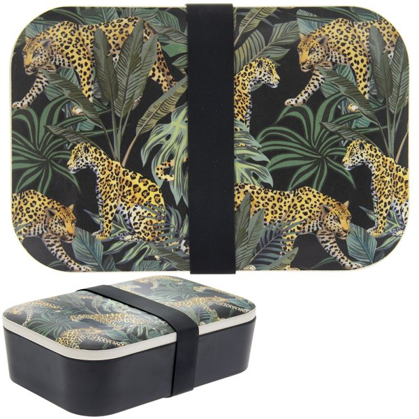 JUNGLE FEVER BAMBOO LUNCH BOX