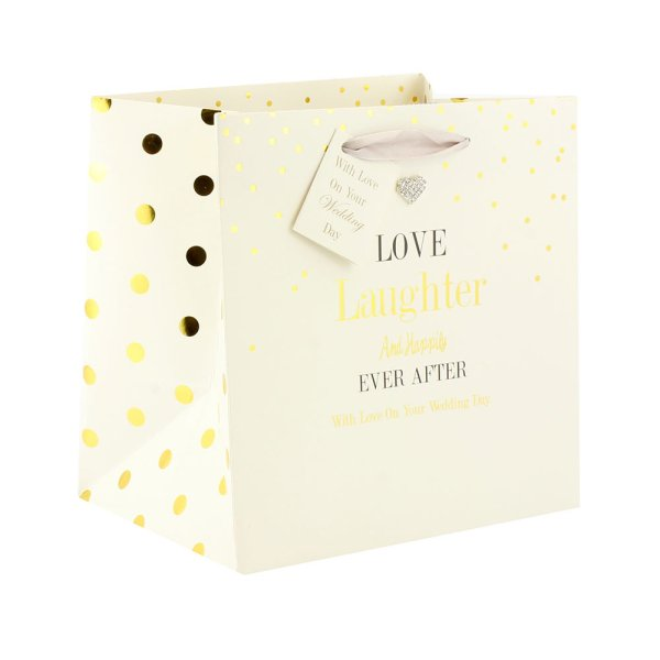 MAD DOTS WEDDING GIFT BAG MED
