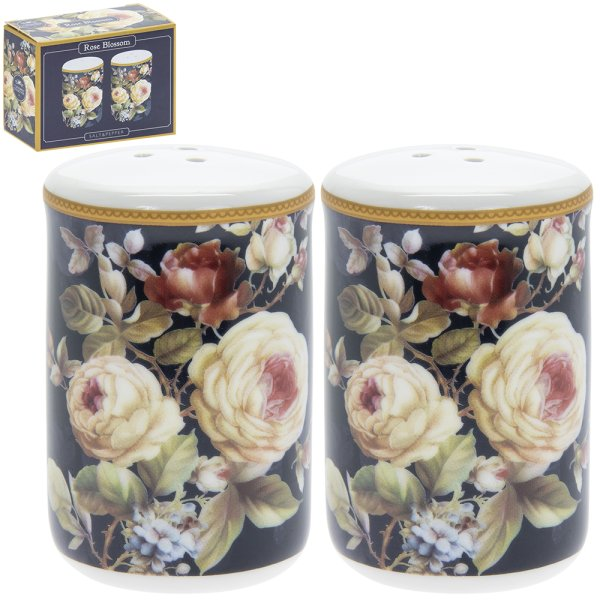 ROSE BLOSSOM SALT & PEPPER