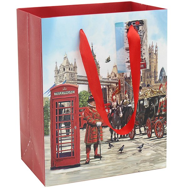 LONDON GIFT BAG L