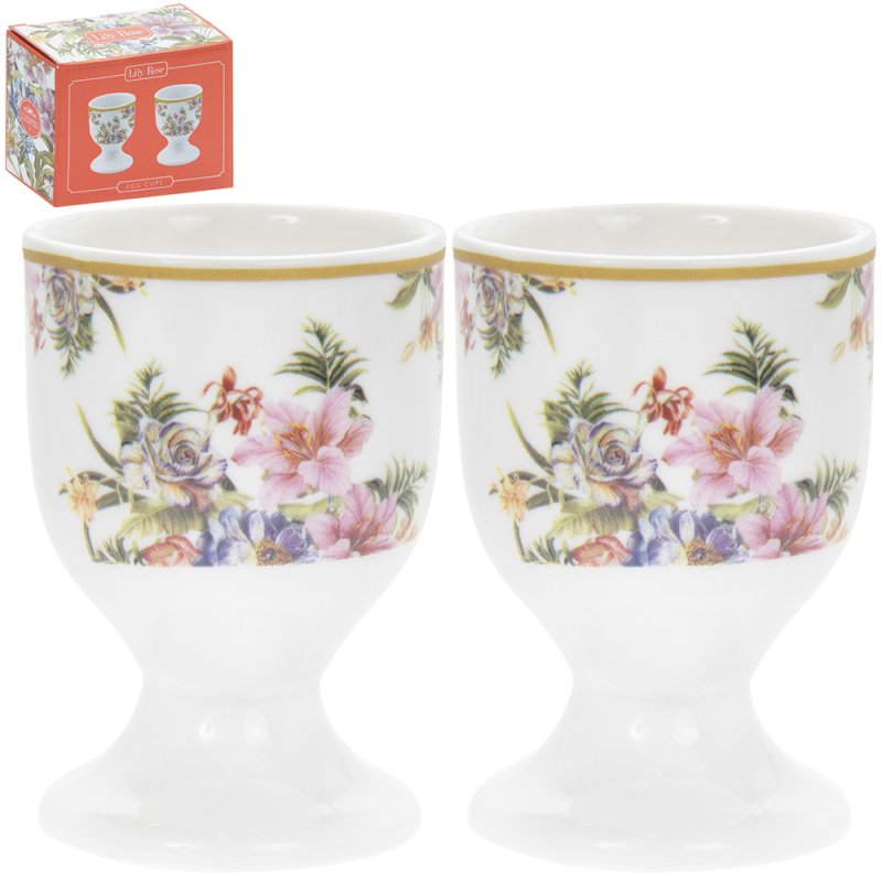 LILY ROSE EGG CUPS