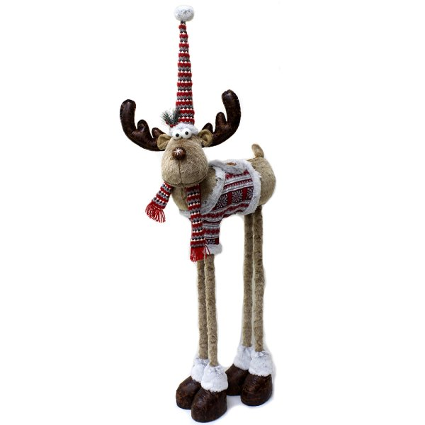 REINDEER WITH TELESCOPE 38-54""