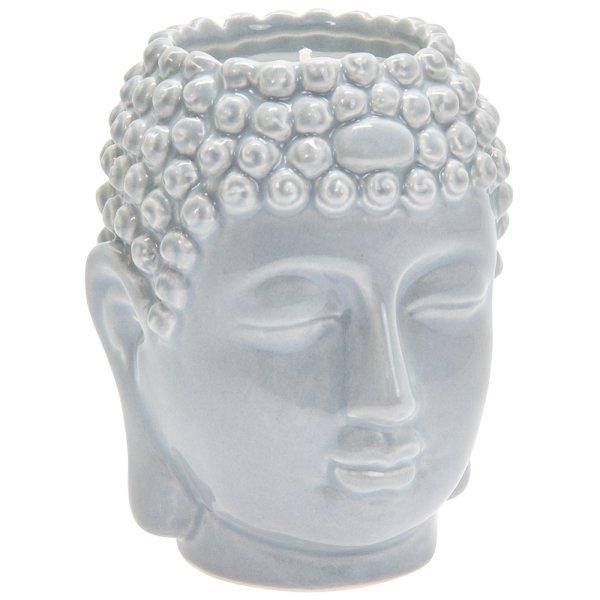 DESIRE BUDDHA CANDLE GREY
