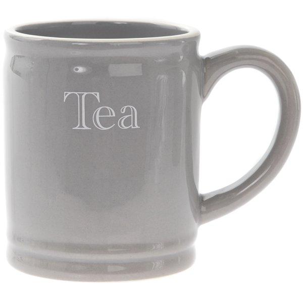 GREY CLASSIC TEA MUG