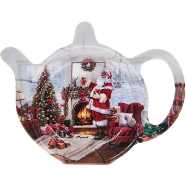 CHRISTMAS SANTA TEABAG TIDY