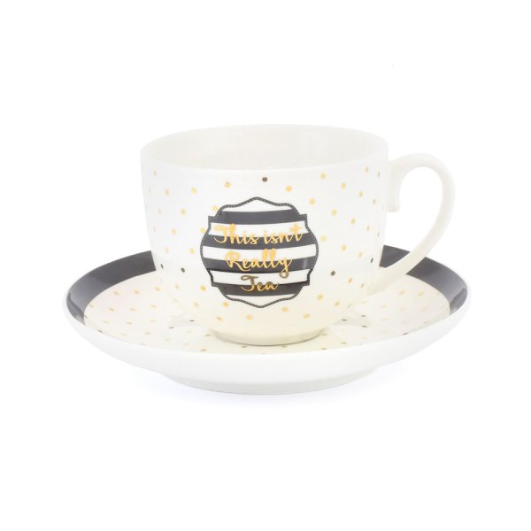 SIMPLY CHIC CUP & SAUCER