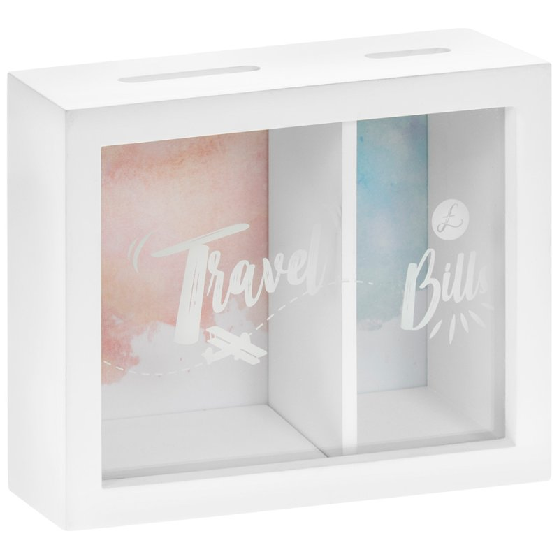 TRAVEL & BILLS MONEY BOX